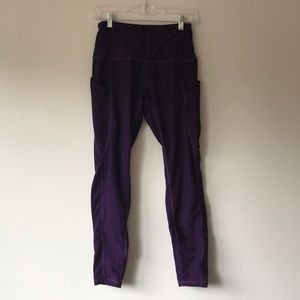Ododos Purple Yoga Pants